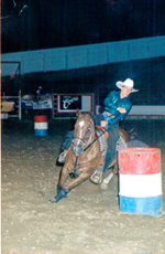 Jennifer Brown Barrel Racing